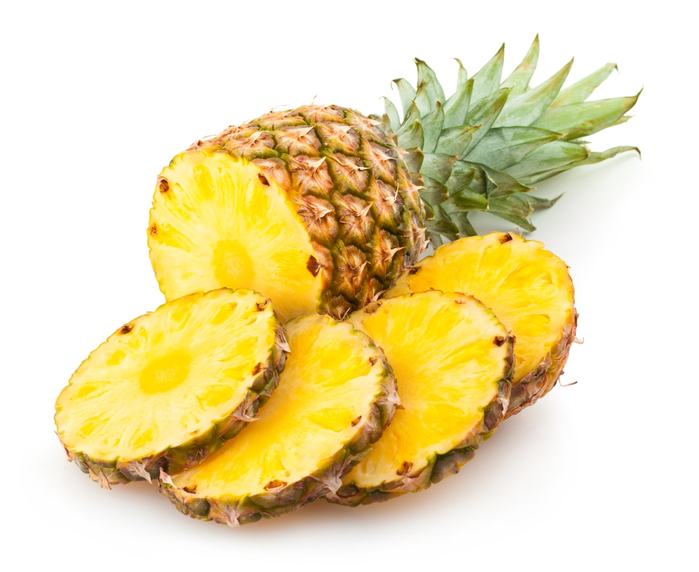 Pineapples one of the clean 15